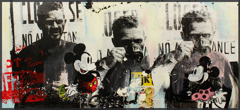 Steve McQueen goes Pop Art